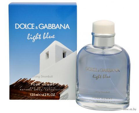 "Туалетная вода для мужчин Dolce & Gabbana ""Light Blue Living Stromboli"" (125 мл)"