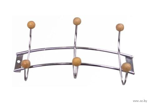 Вешалка настенная (6 крючков; 210х110 мм)