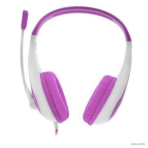 Детская игровая стерео гарнитура Kidz Play для PS3 (розовая)