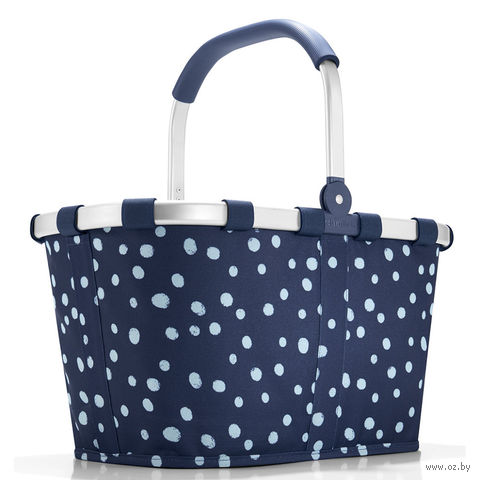 "Корзина ""Carrybag"" (spots navy)"