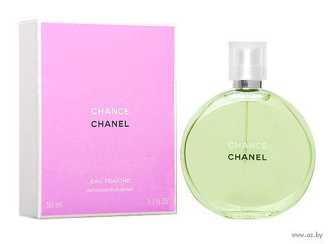 "Туалетная вода для женщин Chanel ""Chance eau Fraiche"" (50 мл) — фото, картинка"