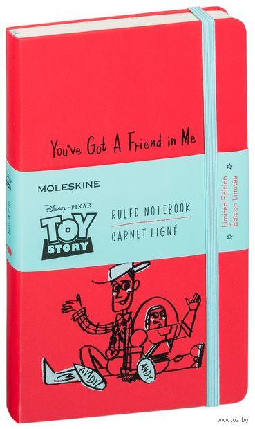 """Записная книжка в линейку """"Toy Story"""" (А5; красная ) — фото, картинка"""