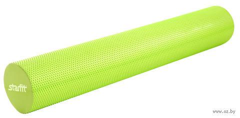 """Ролик для йоги и пилатеса """"FA-506"""" (15х90 см; зелёный) — фото, картинка"""