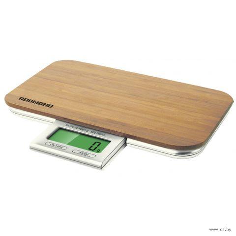 Кухонные весы Redmond RS-721 (дерево) — фото, картинка