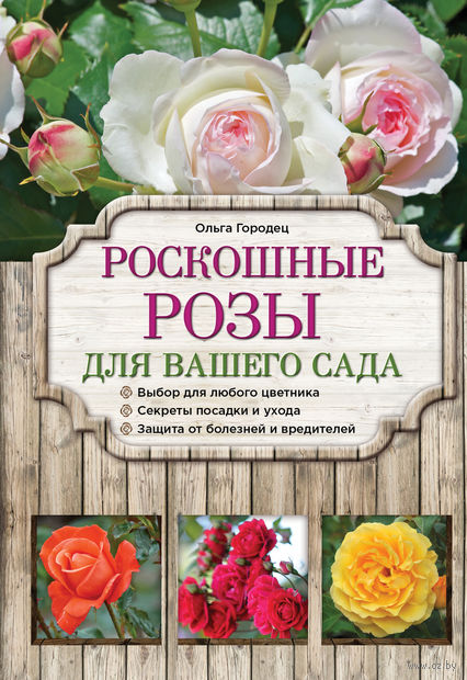 Роскошные розы для вашего сада. О. Городец