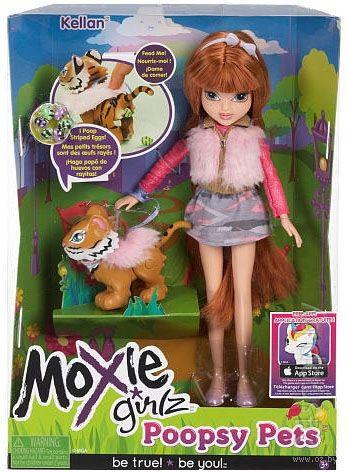 """Кукла """"Moxie Girlz. Забавные питомцы. Келлан"""""""