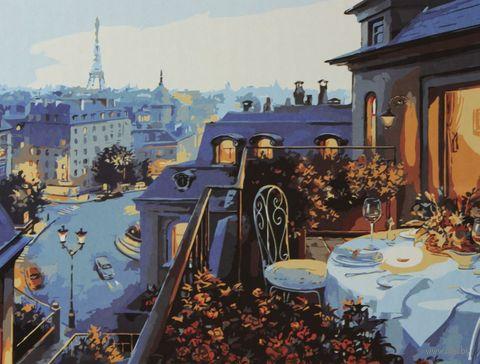 """Картина по номерам """"Ужин в Париже"""" (400x500 мм) — фото, картинка"""