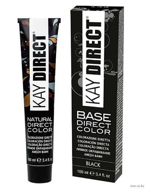 """Краситель для волос """"Прямого действия. Kay Direct"""" тон: черный — фото, картинка"""