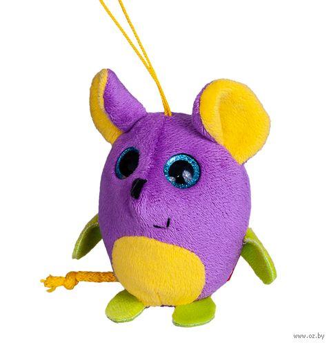 """Мягкая игрушка-брелок """"Глазастик. Мышка"""" (9 см) — фото, картинка"""