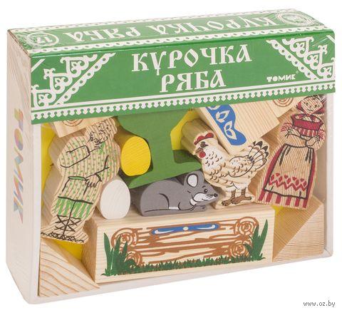 """Деревянная игрушка """"Сказки. Курочка Ряба"""""""