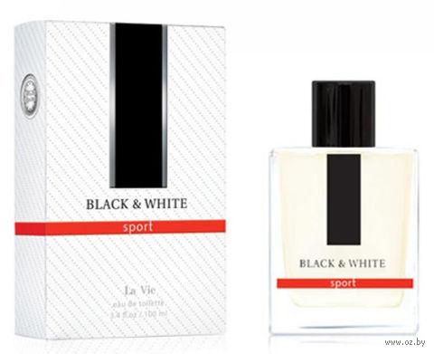"Туалетная вода для мужчин ""Black and White"" (100 мл) — фото, картинка"