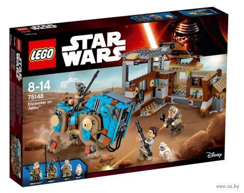 """LEGO Star Wars """"Столкновение на Джакку"""" — фото, картинка"""