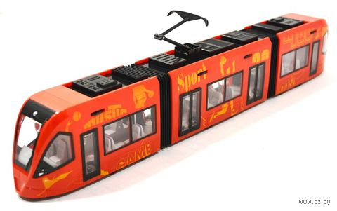 """Модель машины """"Городской трамвай"""" (масштаб: 1/43)"""