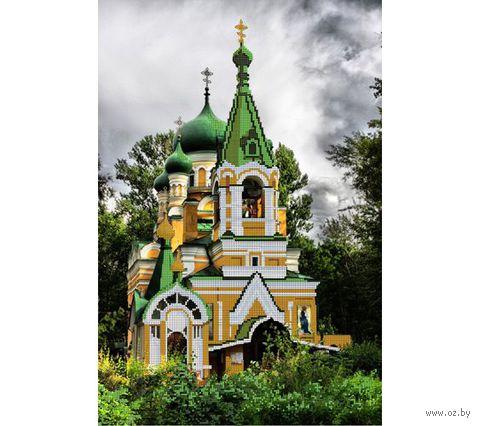 "Канва с нанесенным рисунком ""Храм"""
