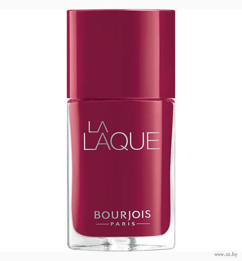 """Гель-лак для ногтей """"La laque gel"""" (тон: 08, вишневый) — фото, картинка"""