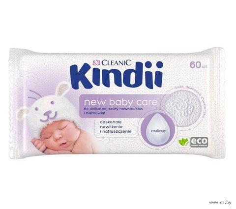 """Влажные салфетки детские """"New Baby Care"""" (60 шт.) — фото, картинка"""