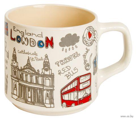 "Кружка ""Лондон"" (молочная) — фото, картинка"