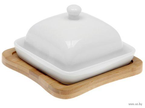Масленка керамическая (130х130 мм) — фото, картинка