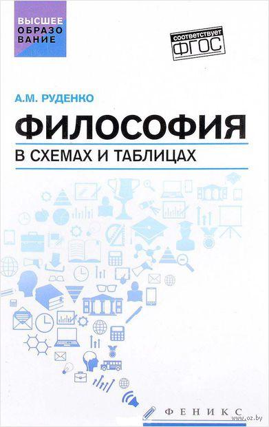 Философия в схемах и таблицах. Андрей Руденко