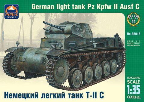 Немецкий легкий танк Pz.Kpfw.II Ausf.C (масштаб: 1/35)