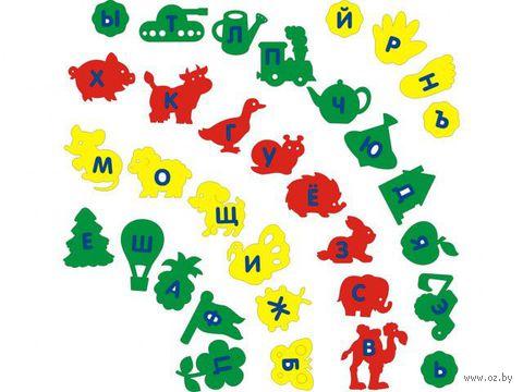 """Набор игрушек для купания """"Алфавит-ассорти"""" (33 шт) — фото, картинка"""