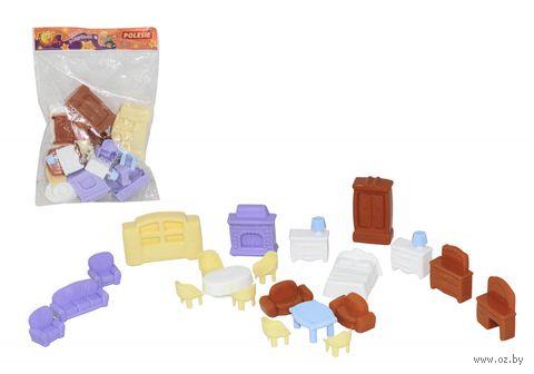 Набор мебели для кукол №5 (21 элемент)