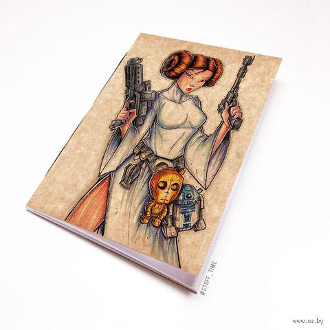 """Блокнот крафт """"Звездные войны"""" (А7; арт. 916) — фото, картинка"""