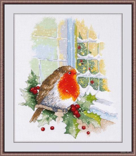 """Вышивка крестом """"В предверии Рождества"""" (230х300 мм) — фото, картинка"""