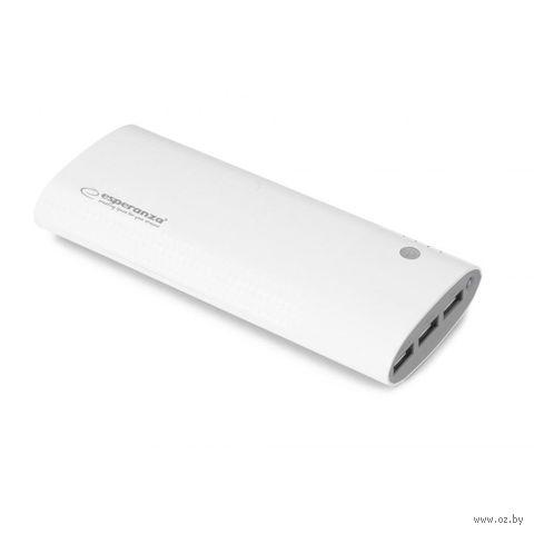 Внешний аккумулятор ESPERANZA URANIUM 13800 mAh (белый) — фото, картинка