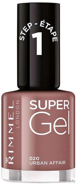 "Гель-лак для ногтей ""Super Gel Nail Polish"" тон: 20, urban affair — фото, картинка"