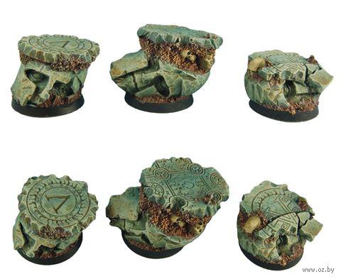 """Подставка круглая """"Руины Спарты"""" (25 мм; 3 шт; арт. BRSP0063) — фото, картинка"""