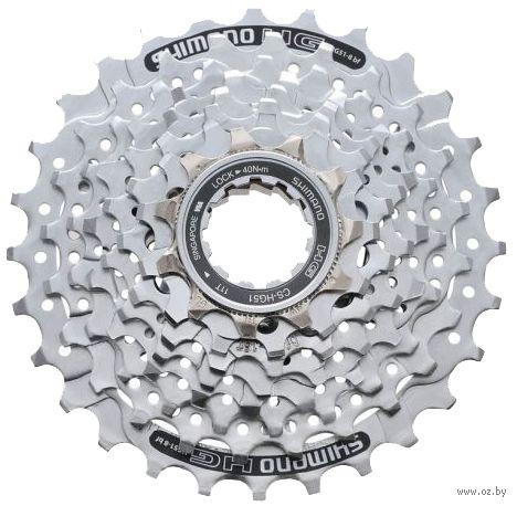Кассета для велосипеда CS-HG51 (8 скоростей; звёзды 11-28) — фото, картинка