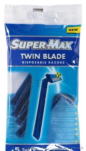 "Станок для бритья одноразовый ""Twin Blade"" (5 шт.) — фото, картинка"