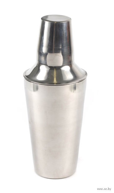 Шейкер для коктейлей металлический (500 мл) — фото, картинка