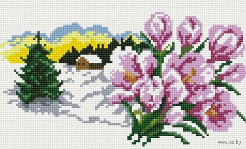 """Алмазная вышивка-мозаика """"В ожидании весны"""""""