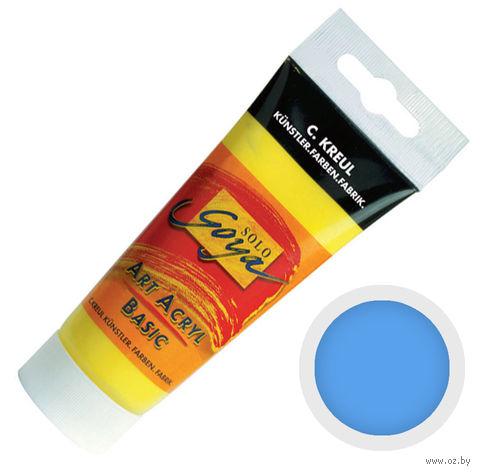 """Краска акриловая матовая """"Solo Goya Basic"""" 32 (100 мл; голубой палевый)"""
