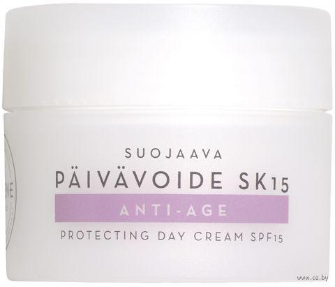 "Крем для лица ""Anti-Age Protecting Day Cream"" SPF15 (50 мл) — фото, картинка"