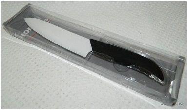 Нож керамический с пластмассовой ручкой (15 см, арт. MS-CR215C)