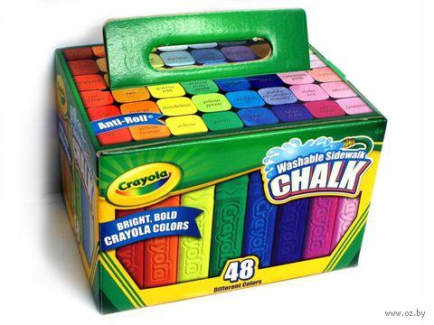 """Мел цветной """"Crayola"""" (48 цветов)"""