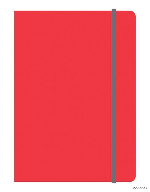 """Блокнот в клетку """"Elements"""" (А5; красный)"""