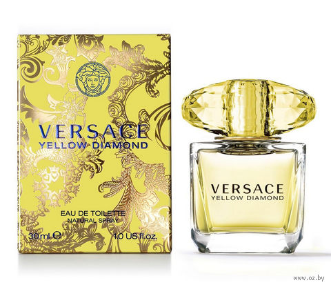 "Туалетная вода для женщин Versace ""Yellow Diamond"" (30 мл) — фото, картинка"
