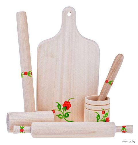 """Игровой набор """"Кухонные принадлежности"""" (арт. Д-302) — фото, картинка"""