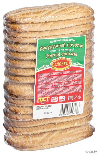 "Печенье сахарное ""Кукурузный початок"" (250 г) — фото, картинка"