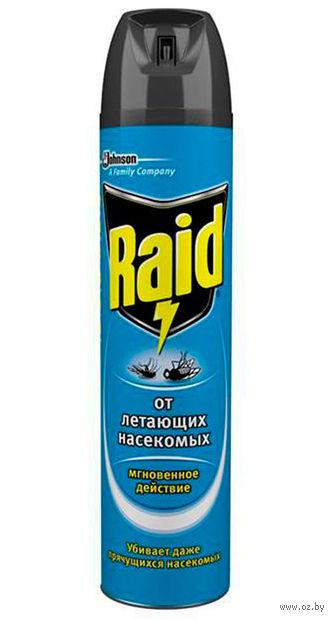 "Аэрозоль против мух и комаров ""Raid"" (300 мл) — фото, картинка"