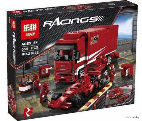 """Конструктор Racings """"Грузовик Ferrari"""" — фото, картинка"""