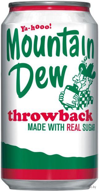 """Напиток газированный """"Mountain Dew. Throwback"""" (355 мл) — фото, картинка"""