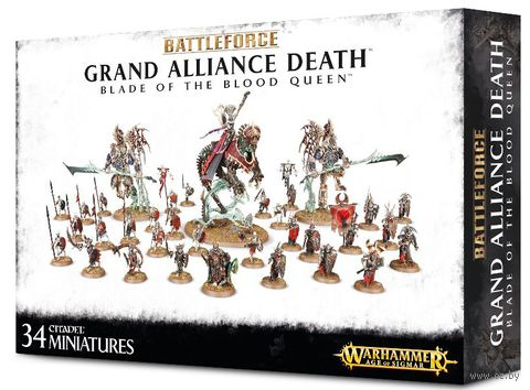 Warhammer Age of Sigmar. Grand Alliance Death. Blade of the Blood Queen (71-67) — фото, картинка