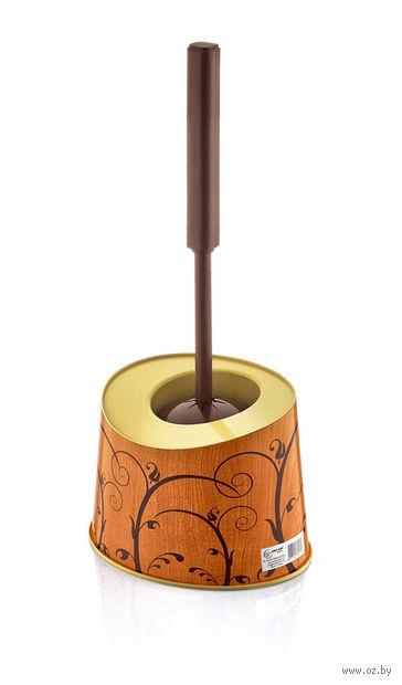 Ершик для туалета на подставке (140х180х120 мм; арт. D026-X07)