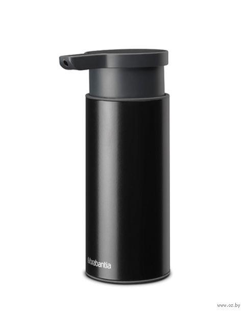 """Дозатор для жидкого мыла """"Profile"""" (200 мл; черный матовый) — фото, картинка"""