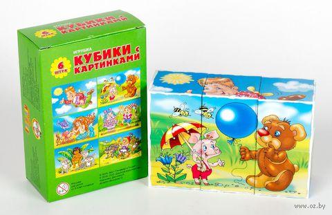 """Кубики с картинками """"Солнышко-3"""" (6 шт)"""